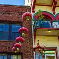 Chinese Lanterns Over Grant Street by Bonnie Follett