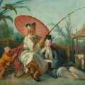 Chinese Motif by Francois Boucher