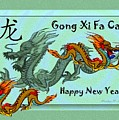 Chinese New Year - Number Nineteen by Madeline  Allen - SmudgeArt