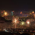Chinese New Year Fireworks 2018 I by William Dickman