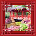 Chinese Pavilion Rhododendron Gardens Burnie Tasmania by Circles Of Beauty Dawair Al Jameelah