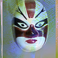 Chinese Porcelain Mask by Heiko Koehrer-Wagner