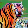 Chinese Tiger 2 by David Stasiak