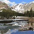 Chinns Lake Reflections 3 by Tonya Hance