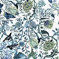 Chinoiserie Blue by Chrissy Ink