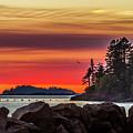 Chinook Sunset 2 by Mark Joseph