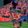Chipper Jones by Rod Kaye