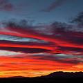 Chiricahua Mountain Sunset by David Thompson