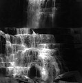 Chittenango Falls Bw by DigiArt Diaries by Vicky B Fuller