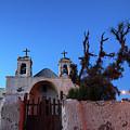 Chiu Chiu Church At Twilight Chile by James Brunker