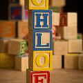 Chloe - Alphabet Blocks by Edward Fielding
