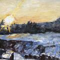 Chmelak Ze Zubatky V Zime by Pablo de Choros