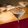 Chocolate And Cream Martini Cocktail by Jacek Malipan