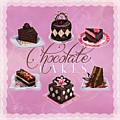 Chocolate Cakes by Shari Warren