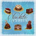 Chocolate Candies by Shari Warren