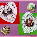 Chocolate Hearts by Jan Bennicoff