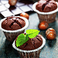 Chocolate Muffins by Natalia Klenova
