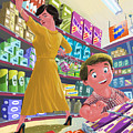 Chocolate Shopping by Martin Davey