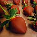 Chocolate Strawberries by Gerard Yates