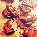 Chocolate Tableware Destruction by Jorgo Photography - Wall Art Gallery