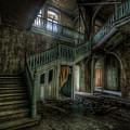 Chocolate Villa Hallway by Nathan Wright