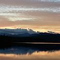 Chocorua At Sunset 2 by Ron Hebert