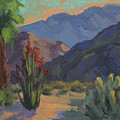 Cholla At Smoketree Ranch by Diane McClary