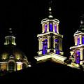 Cholula Church by Agustin Uzarraga