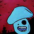 Chomping Zombie Mushroom by Jera Sky