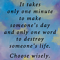 Choose Wisely by Alys Caviness-Gober