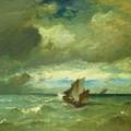 Choppy Sea 1870 by Dupre Jules