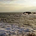 Choppy Seas by Veron Miller