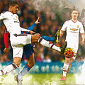 Chris Smalling  In Action  by Don Kuing