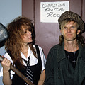 Chrissy Amphlett And Mark Mcentee by Rich Fuscia