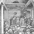 Christ Among The Doctors In The Temple 1503 by Durer Albrecht
