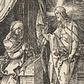 Christ Appearing To His Mother, From The Small Passion by Albrecht Durer