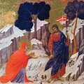 Christ Appearing To Mary 1311 by Duccio
