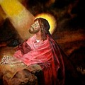 Christ At Gethsemane by G Cuffia
