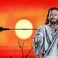 Christ At Sunrise by Bill Richards