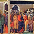 Christ Before Caiaphas 1311 by Duccio