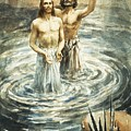 Christ Being Baptised by Henry Coller