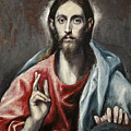 Christ Blessing, The Saviour Of The World by El Greco