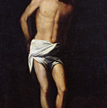 Christ Bound To The Column by Alonso Cano