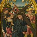 Christ Carrying The Cross by PixBreak Art