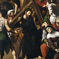 Christ Carrying The Cross by Vicente Juan Masip