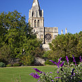 Christ Church Cathedral Oxford University Uk by Peter Barritt