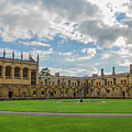 Christ Church Tom Quad by Carol Berget