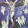 Christ Crucifixion by Alejandro Lopez-Tasso