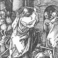 Christ Driving The Merchants From The Temple 1511 by Durer Albrecht
