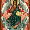 Christ Enthroned - Rlcen by Br Robert Lentz OFM